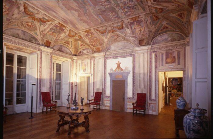 Hall on the first floor, Galleria Nazionale di Palazzo Spinola, Genoa