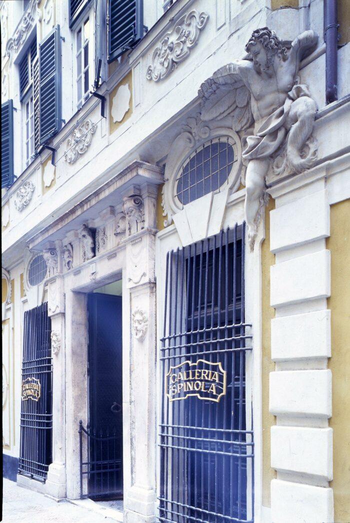 Façade of the Galleria Nazionale di Palazzo Spinola, Genoa