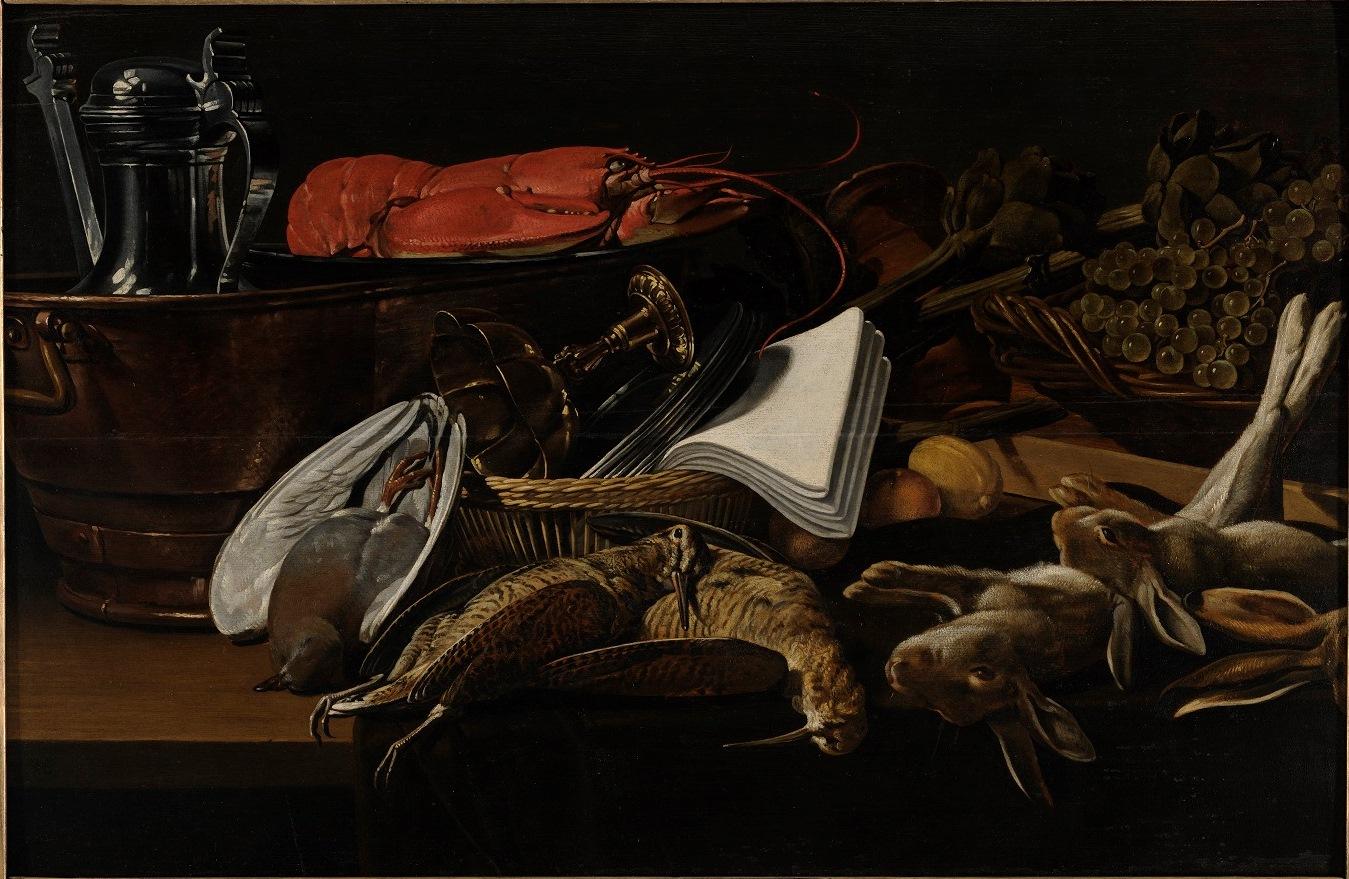 Hans van Essen (1588-1648), <em>Still Life with a Lobster</em><br>Kadriorg Art Museum, Talinn