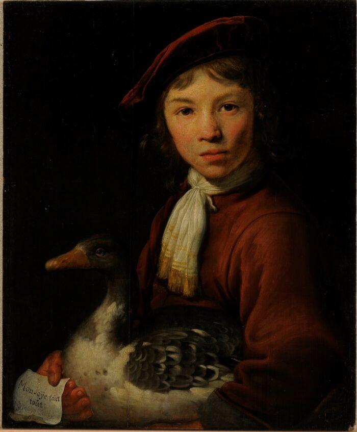 Jacob Gerritsz Cuyp (1594-1652), <em>A Boy with a Goose</em><br>Kadriorg Art Museum, Talinn