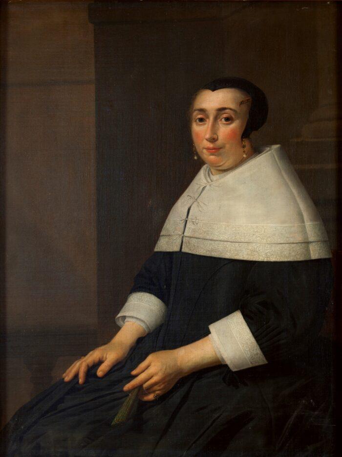 Hendrick van Vliet (1611/12-1675), <em>Portrait of an unknown woman</em>, Ekaterinburg Museum of Fine Arts