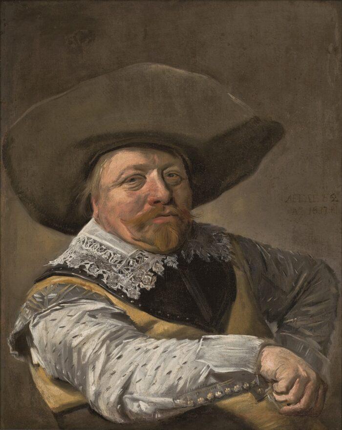 Frans Hals, Seated Officer MASP, Museu de Arte de São Paulo Assis Chateaubriand Photo by: João L. Musa