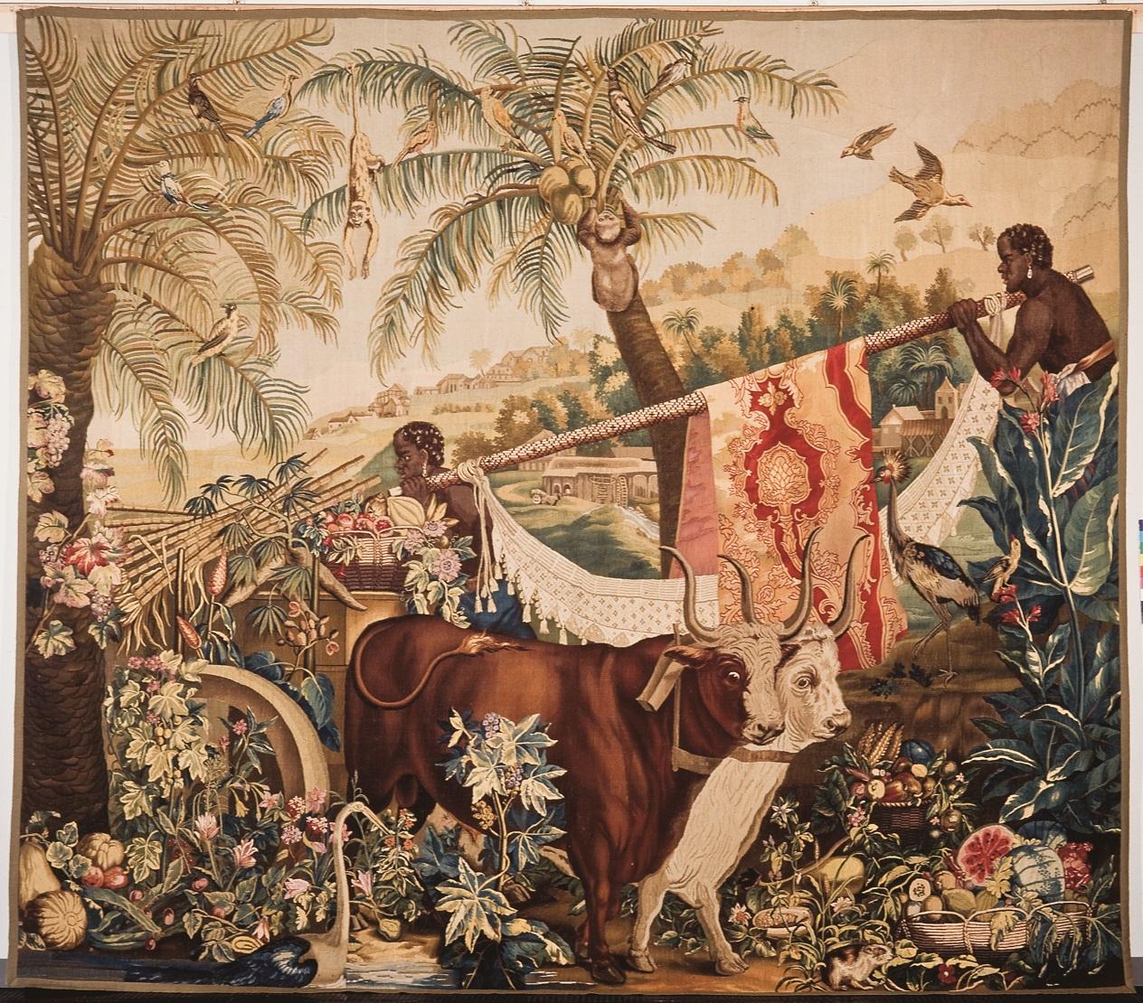 Os Dois Touros (Série das Pequenas Indias) MASP, Museu de Arte de São Paulo Assis Chateaubriand Photo by: João L. Musa