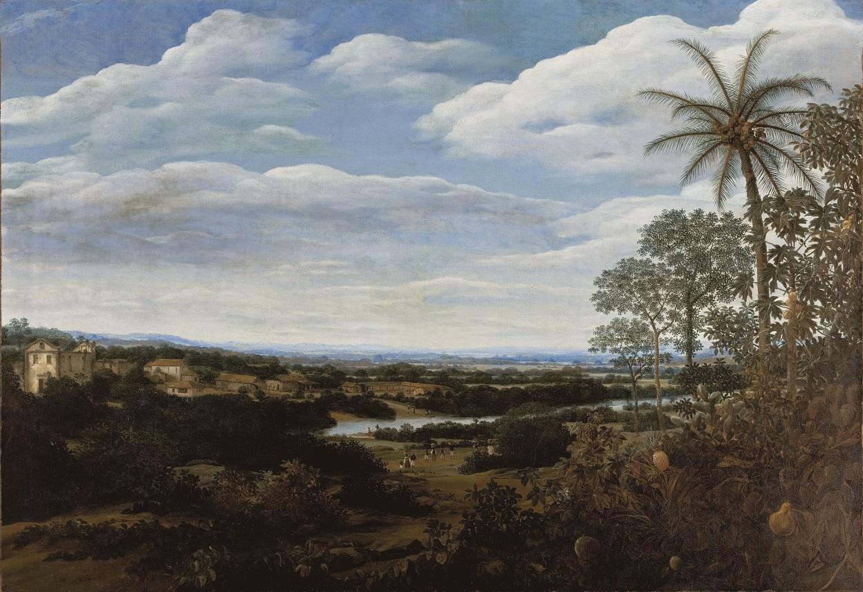 Frans Post (1612-1680), <em>Landscape with a Boa Constrictor</em>, MASP, Museu de Arte de São Paulo Assis Chateaubriand Photo by: João L. Musa