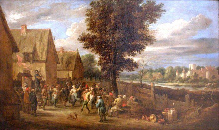 David II Teniers (1610-1690), Village fair, Museo Nacional de Bellas Artes de Cuba