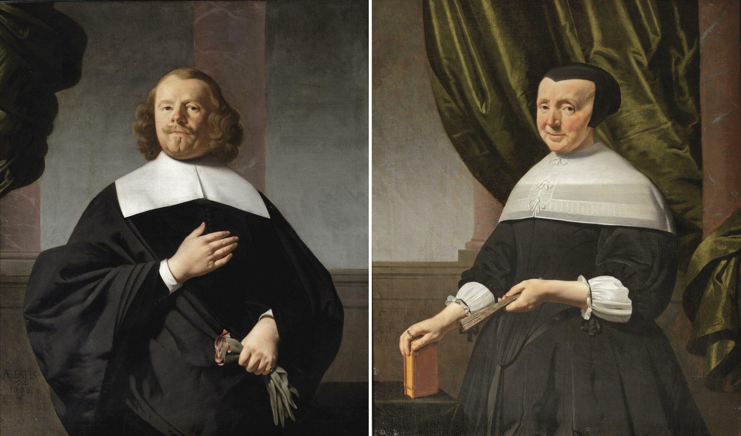 Fig. 5. Caesar Boetius van Everdingen (1616-1678), Portrait of Cornelis Jacobsz Groot and an Unidentified Woman, 1656 and 1664Stedelijk Museum Alkmaar