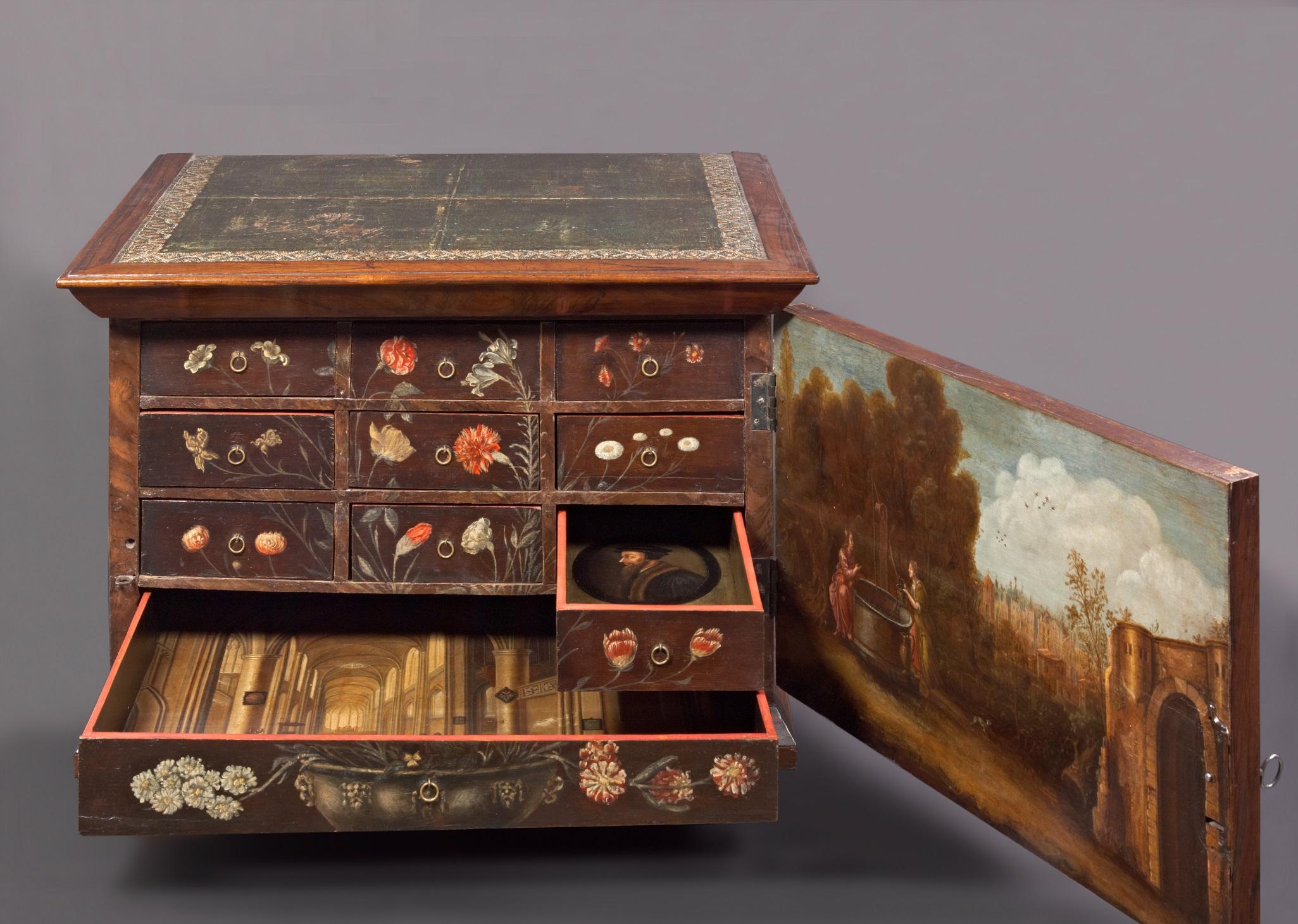 Fig. 9. Susanna van Steenwijck (painter), Nijenburg Lutheran Cabinet, ca. 1665On loan from the heirs of E. Snethlage-van Foreest
