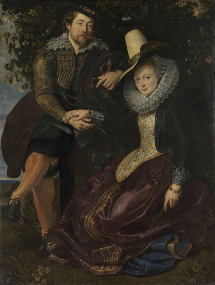Peter Paul Rubens (1577-1640), <em>The Honeysuckle Bower</em>, 1609-10<br>© Bayerische Staatsgemäldesammlungen, Alte Pinakothek, München