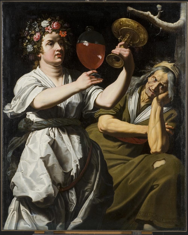 Fig. 4. Abraham Janssens (1567-1632), Allegory of Joy and MelancholySzépművészeti Múzeum, Budapest