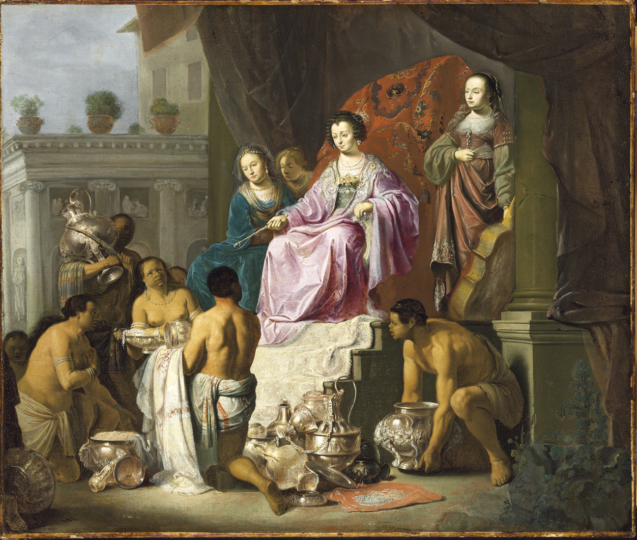 Fig. 5. Willem de Poorter (1608-1649/68), <em>Allegory of Colonial Power</em>, 1638<br>Szépművészeti Múzeum, Budapest