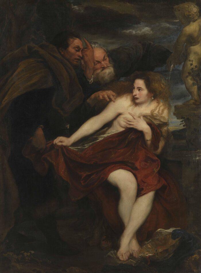Anthony van Dyck (1599-1641), <em>Susanna and the Elders</em>, 1621-22<br>© Bayerische Staatsgemäldesammlungen, Alte Pinakothek, München