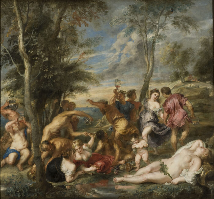 Fig. 8. Peter Paul Rubens (1577-1640), <em>The Andrians</em> (inv. no. NM 600)