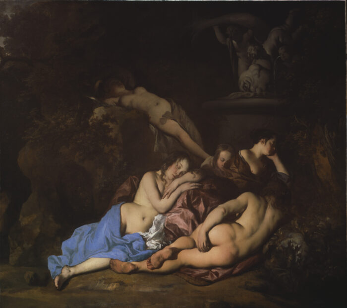 Peter Lely (1618-1680), <em>Nymphs by a Fountain</em>, ca. 1654<br>Dulwich Picture Gallery, London