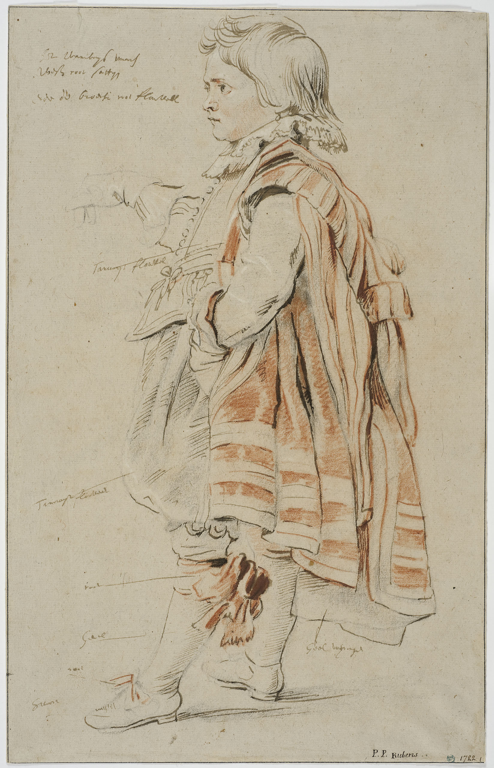 Fig. 6 Peter Paul Rubens (1577-1640), Robin, the Dwarf of the Earl of Arundel, 1620 (inv. no. NMH 1613/1863)