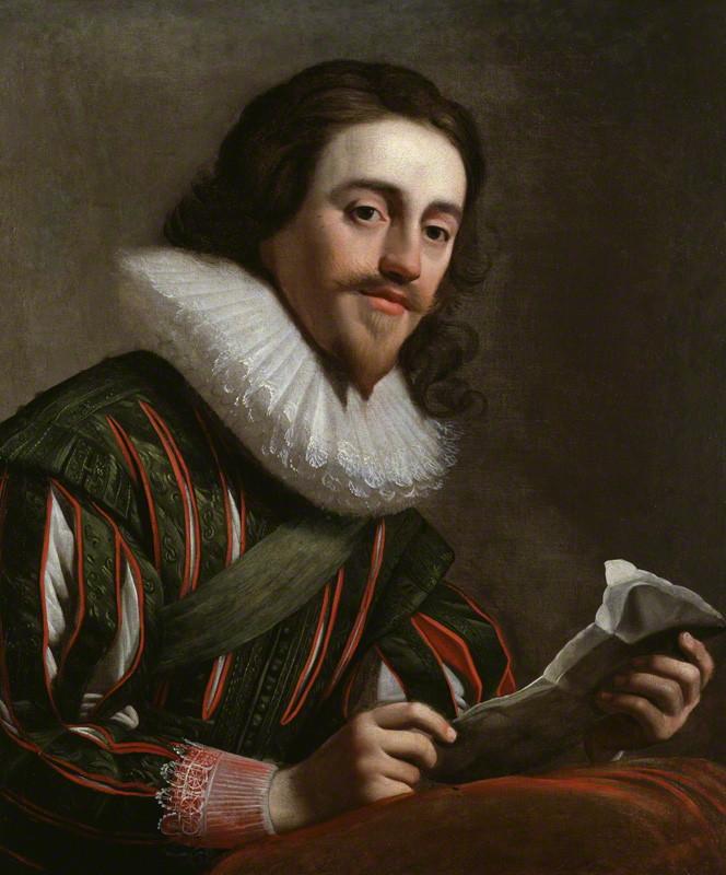 Gerard van Honthorst (1592-1656), <em>Charles I</em>, 1628<br> © National Portrait Gallery, London