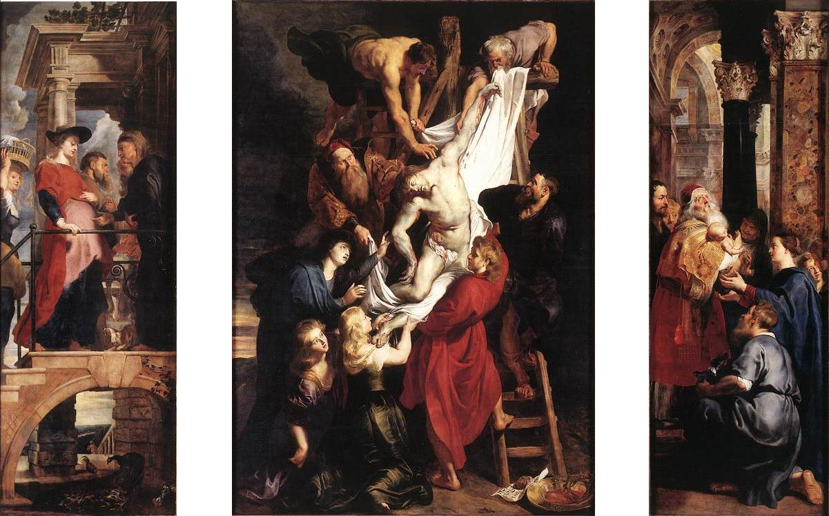Peter Paul Rubens (1577-1640), Descent from the Cross, 1611-1614Onze-Lieve-Vrouwekathedraal, Antwerp
