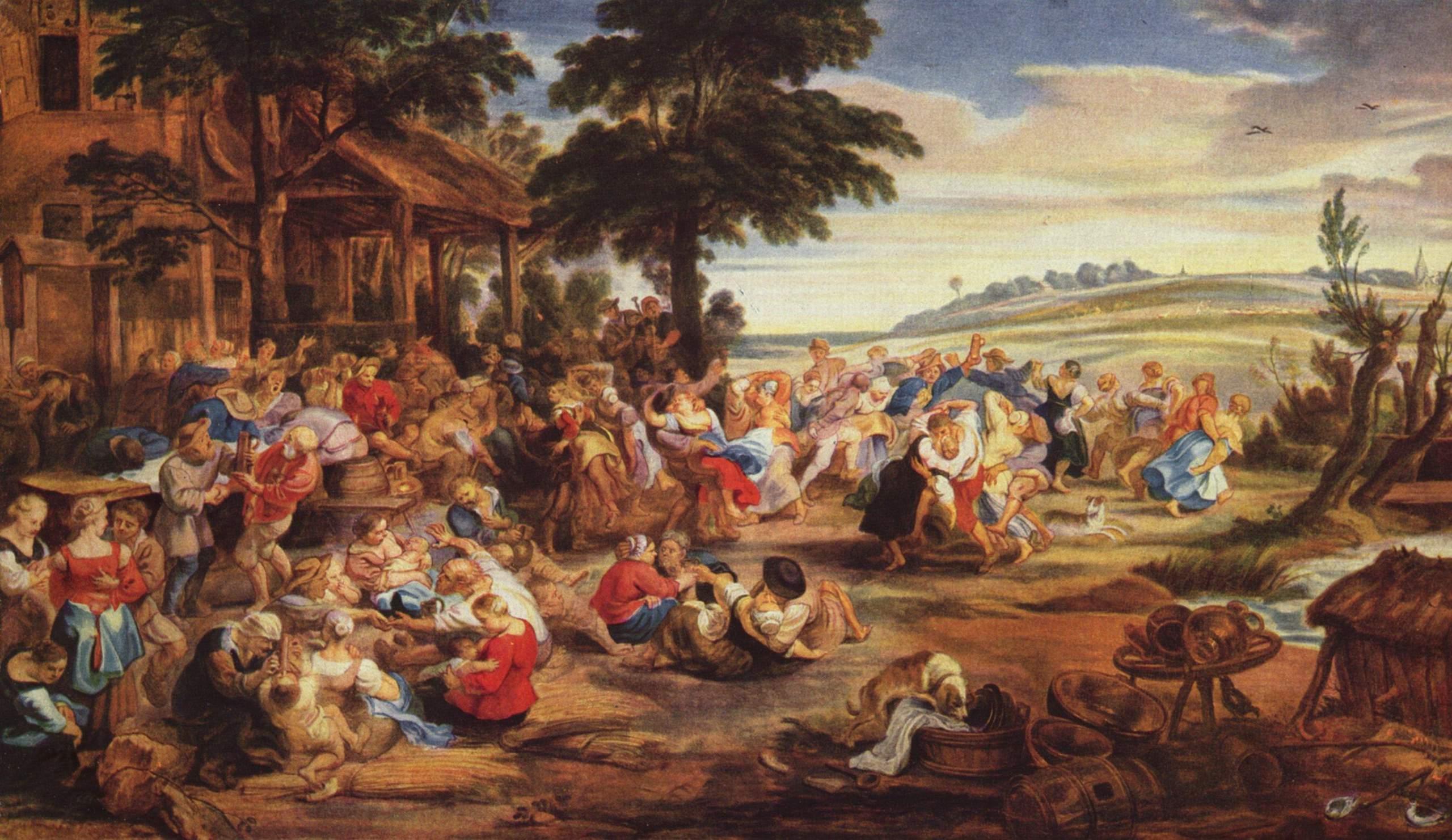 Peter Paul Rubens (1577-1640), The Fair, around 1635Museé du Louvre, Paris
