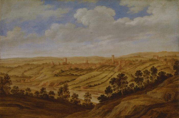Alexander Keirincx (1600-1652), <em>Richmond Castle</em>, 1639<br>Yale Center for British Art, Paul Mellon Collection