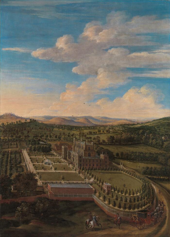 Jan Siberechts (1627-1703), <em>Wollaton Hall and Park</em>, 1697<br>Yale Center for British Art, Paul Mellon Collection