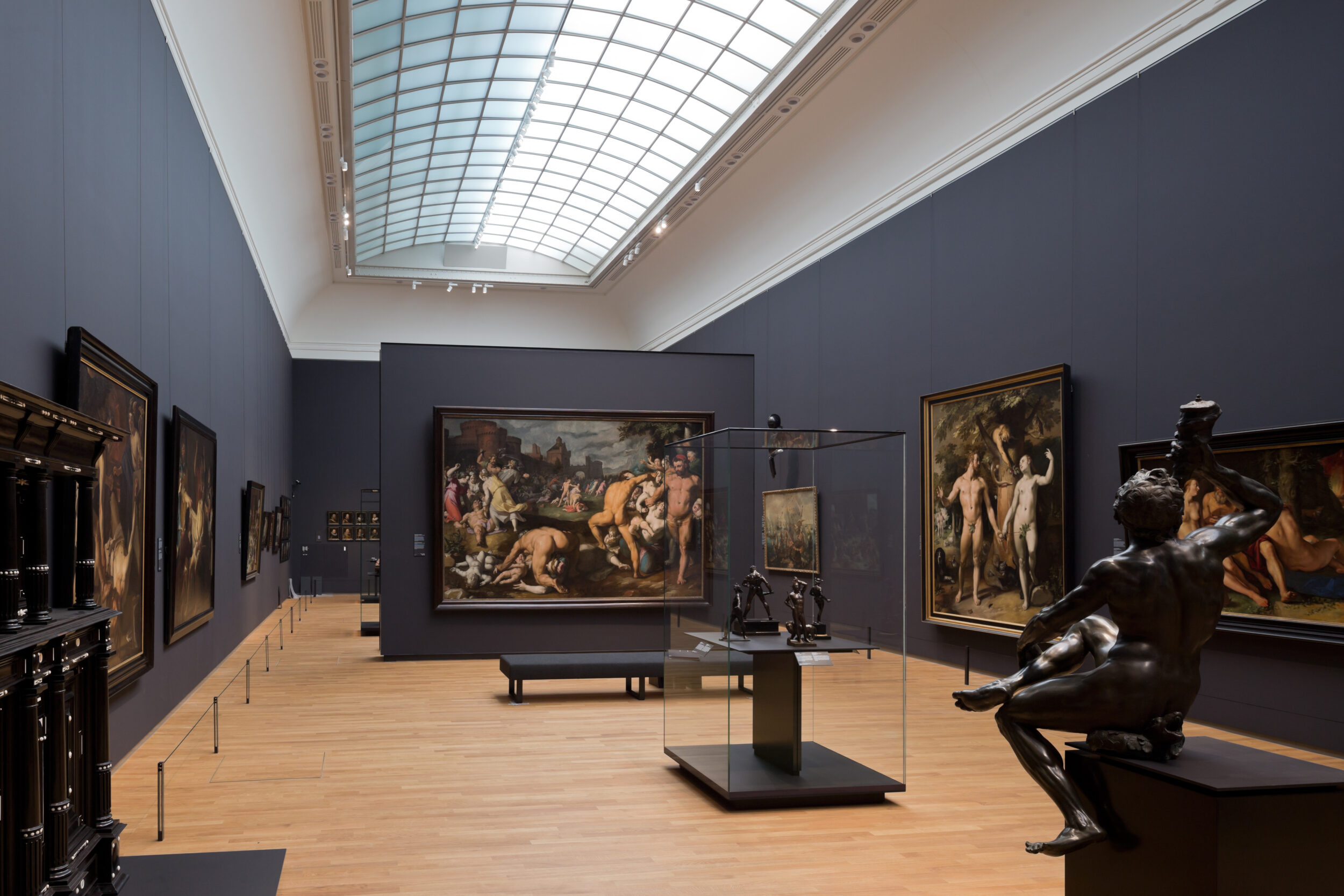 Room dedicated to Dutch Mannerism and Caravaggism