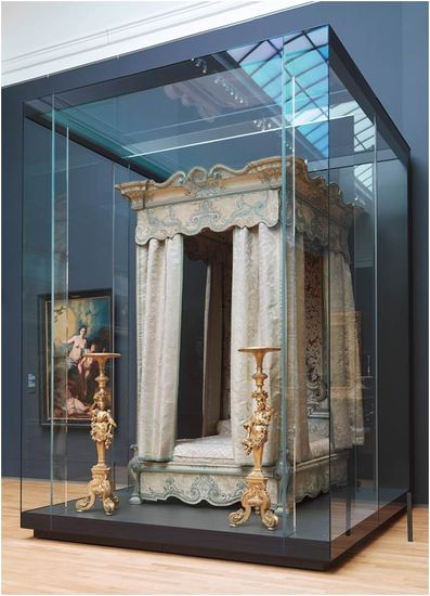 Stately bed, ca. 1715-1720<br>Rijksmuseum, Amsterdam