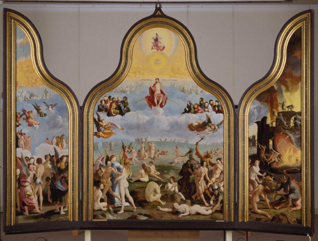 Lucas van Leyden (1494-1533), <em>The Last Judgement</em>, 1526-1527<br>Museum De Lakenhal, Leiden