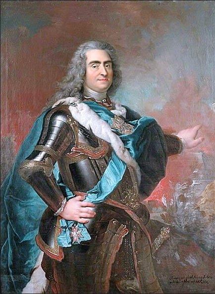 Louis de Silvestre (1675-1760), <em>King August II with the Order of the White Eagle</em>, ca. 1720<br>Nationalmuseum, Stockholm