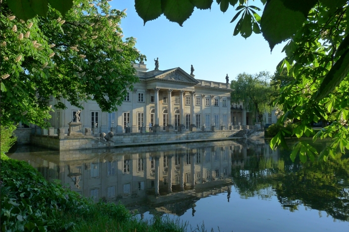 Domenico Merlini, Johann Christian Kamsetzer, <em>The Łazienki Palace (Palace on the Water) in Warsaw</em>, 1788-1793, partly reconstructed after 1945