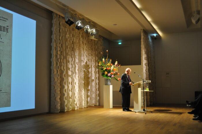 Key-note speaker Krzysztof Pomian