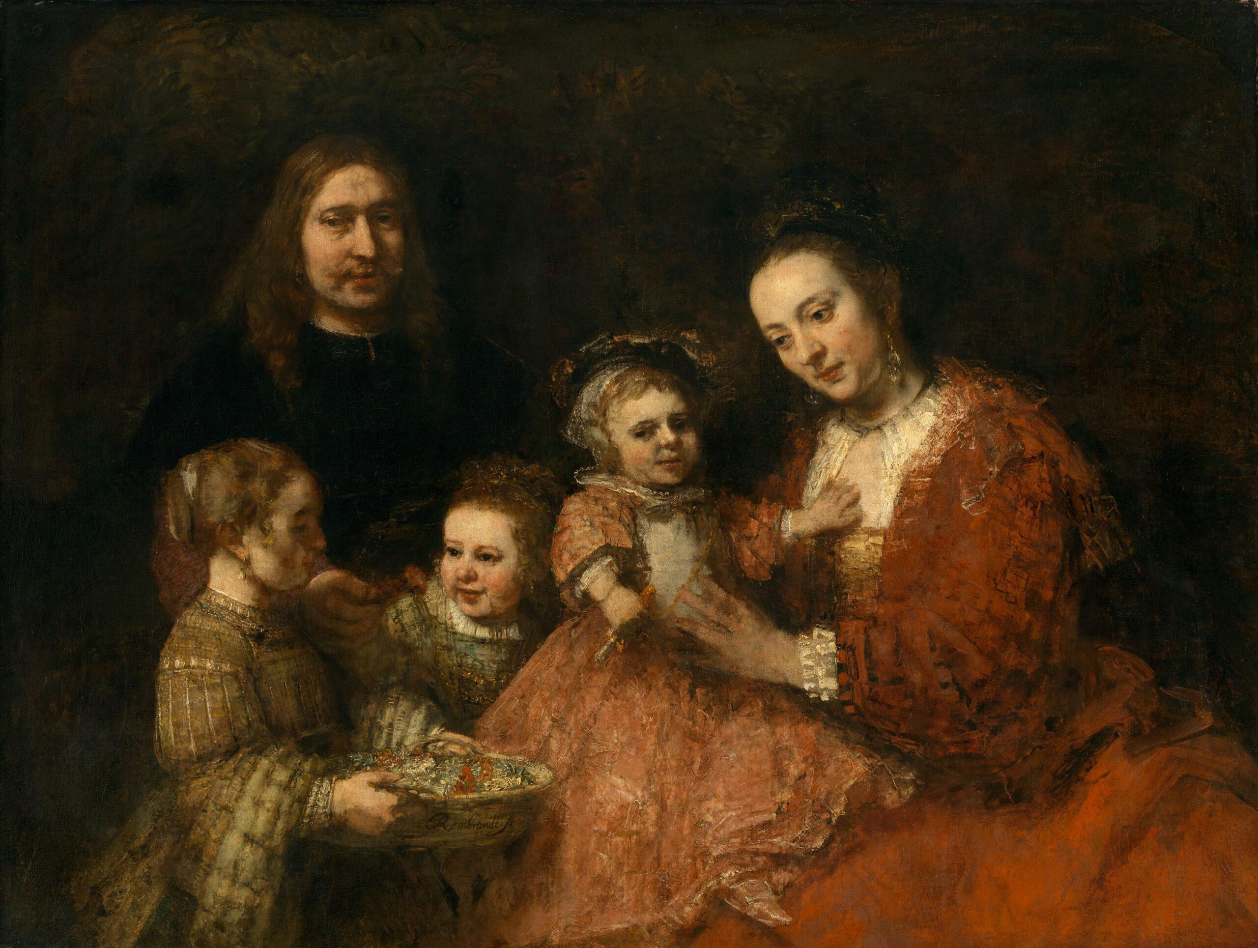 Fig. 8. Rembrandt Harmensz van Rijn (1606-1669), Portrait of a Family, ca. 1668, canvas, 126 x 167 cmHerzog Anton Ulrich-Museum Braunschweig, inv. no. GG 238