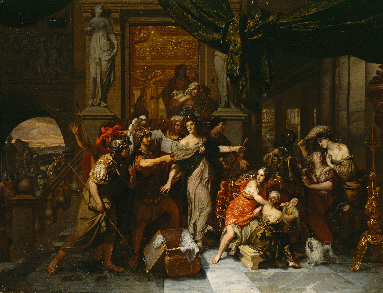 Fig. 12. Gerard de Lairesse (1640-1711), <em>Achilles Discovered among the Daughters of Lycomedes</em>, ca. 1676, canvas, 81 x 104 cm</br>Herzog Anton Ulrich-Museum Braunschweig, inv. no. GG 287