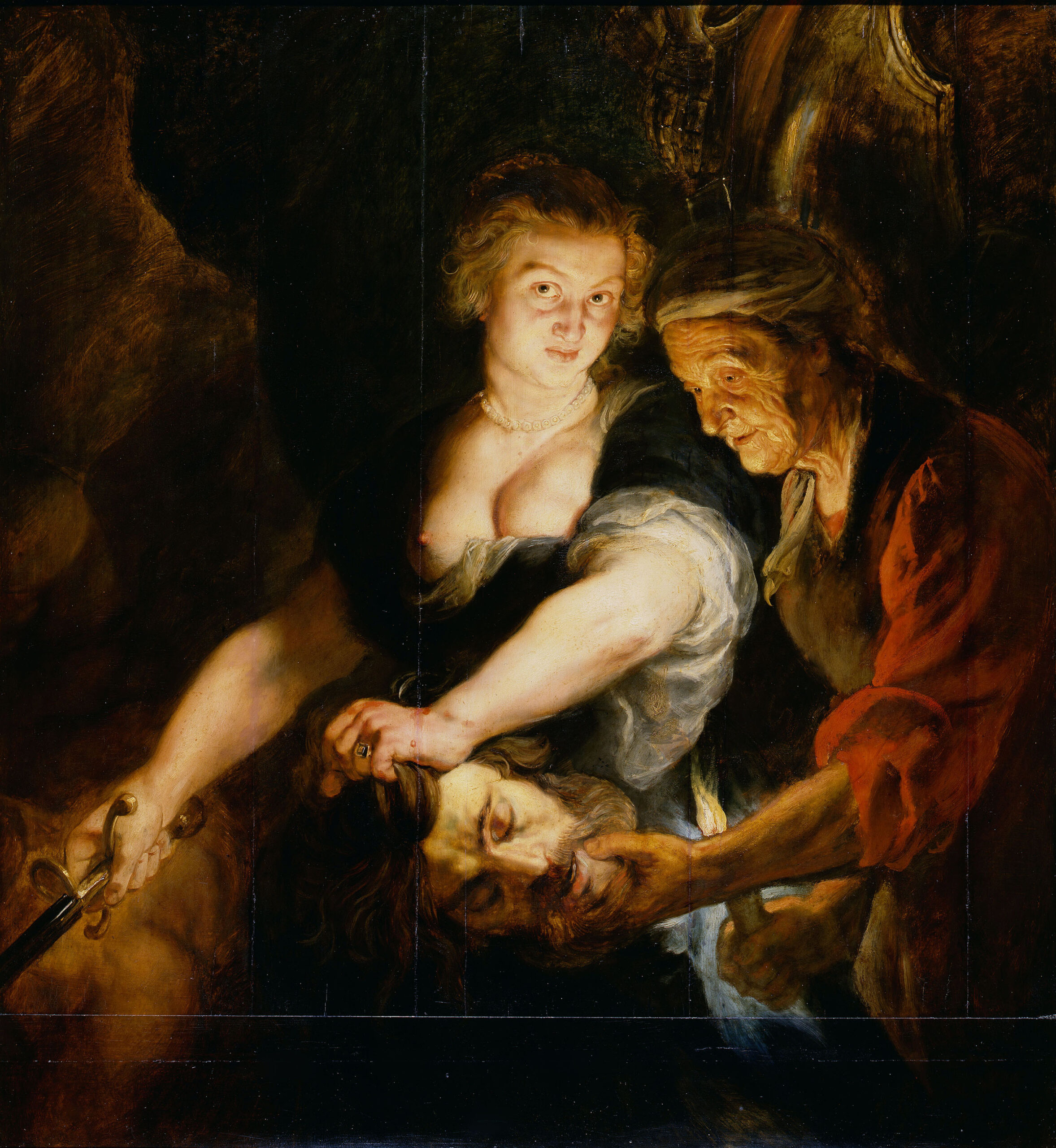 Fig. 6. Peter Paul Rubens (1577-1640), Judith with the Head of Holofernes, ca. 1616, panel, 120 x 111 cmHerzog Anton Ulrich-Museum Braunschweig, inv. no. GG 87