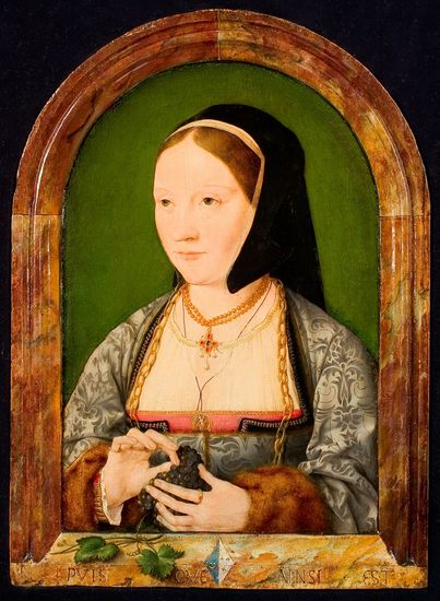 Attributed to Joos van Cleve (1485-1540), Portrait of an Unknown Woman, ca. 1515, Collection Rijksmuseum Twenthe, Enschede, inv. no. 0028 (photograph R. Klein Gotink)