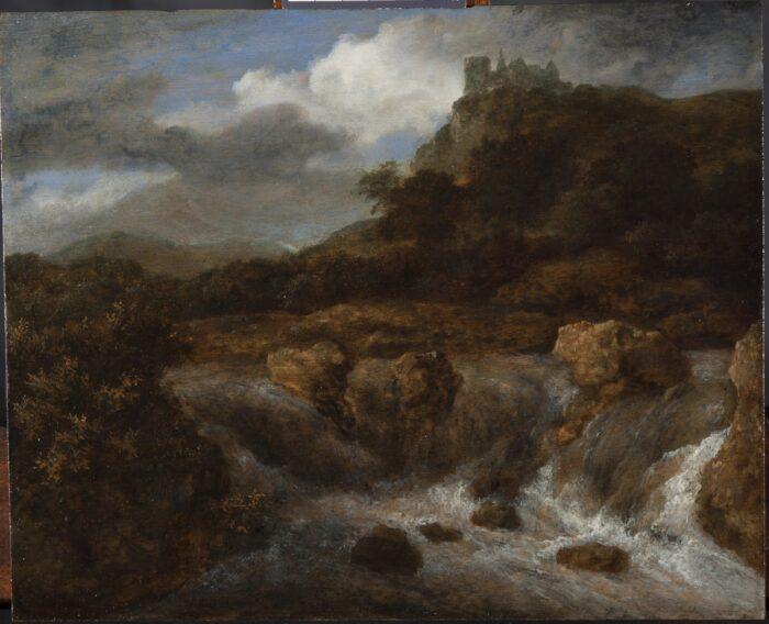Jacob Ruisdael (1628-1681), <em>Study of Bentheim Castle</em>
