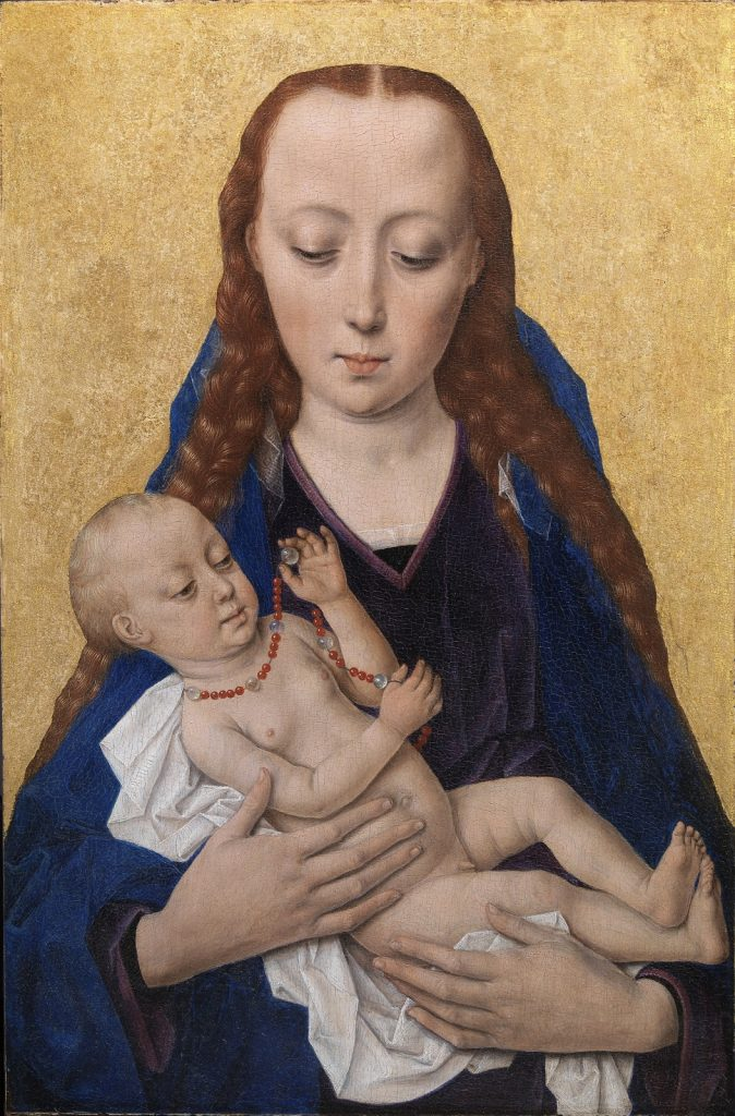 Dieric Bouts (ca. 1420-1475), Virgin and Child, after 1454, Statens Museum for Kunst, Copenhagen