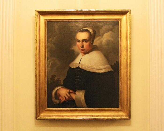 This portrait is the first (still unattributed) painting Stein Berre purchased