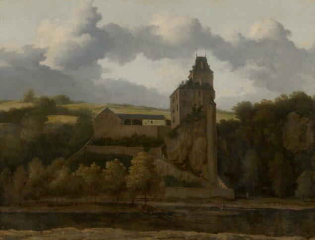 Allart van Everdingen (1621-1675), <em>View of Montjardin Castle</em>, undated Mauritshuis, The Hague