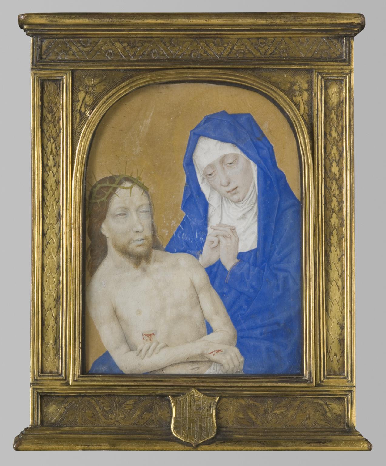 Fig. 6: Simon Marmion (1420-1489), Pietà , late 15th century, John G. Johnson Collection, 1917, Philadelphia Museum of Art