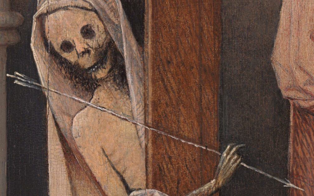 Jheronimus Bosch (1440?1460-1516), Death and the Miser, ca. 1500-1510, Detail, Samuel H. Kress Collection, National Gallery of Art, Washington-
