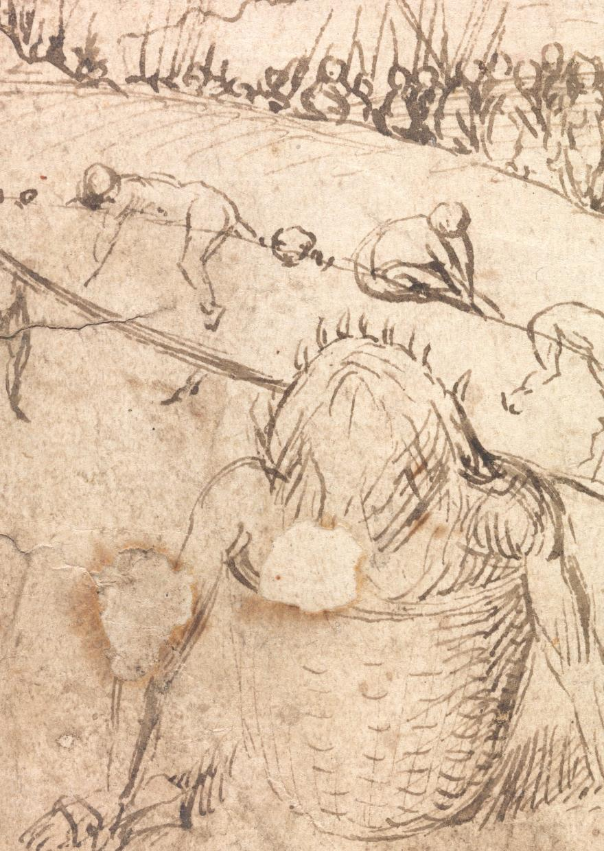 Detail of Infernal Landscape (private collection)
