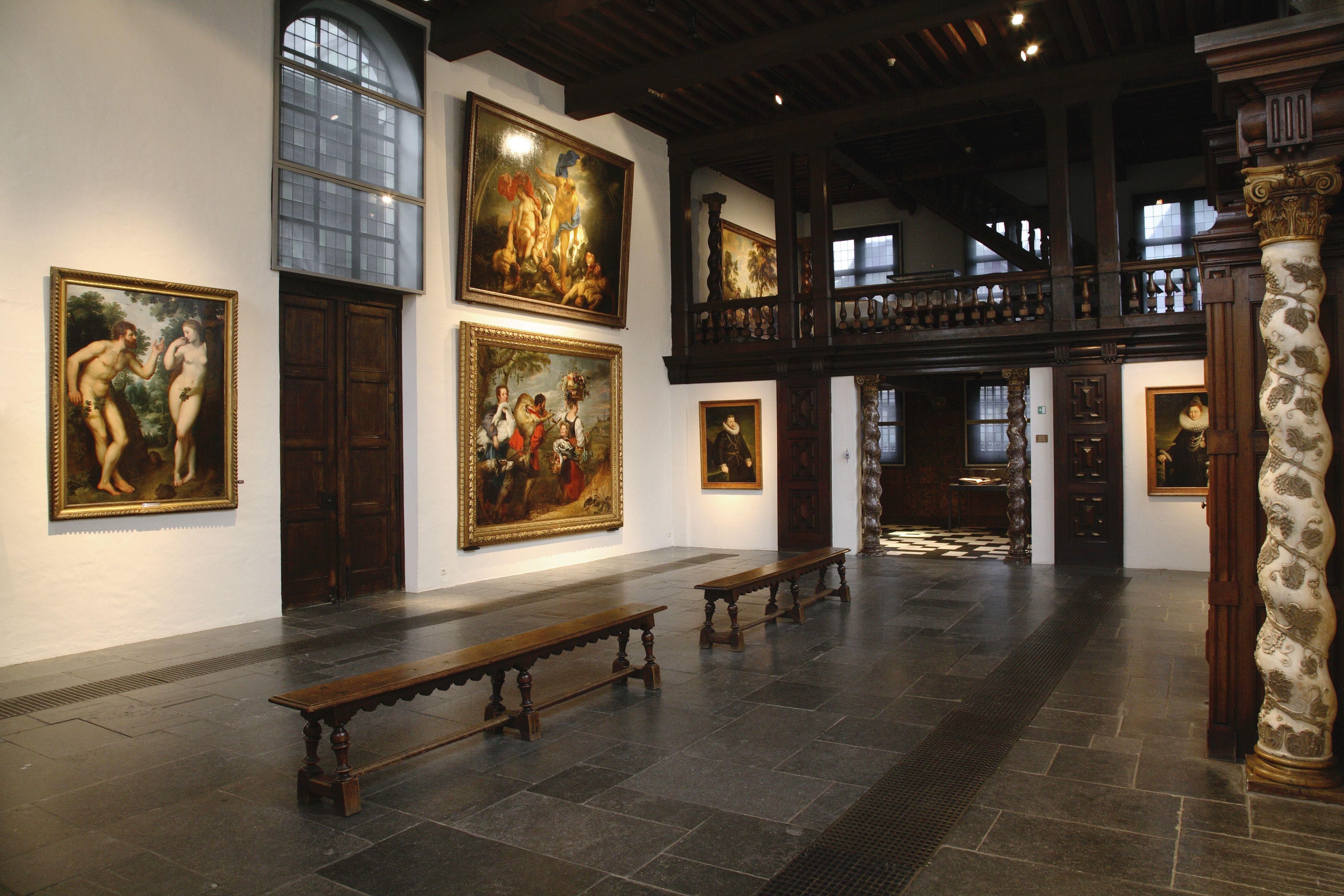 Rubenshuis musea antwerpen codart for Interieur antwerpen