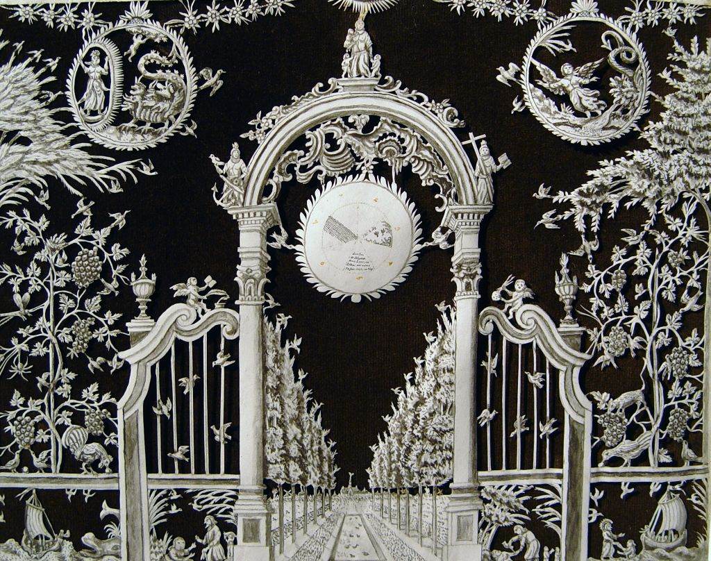 Fig. 6. Jan de Bleyker (1707-1783), The Entrance to Heaven. Westfries Museum, Hoorn