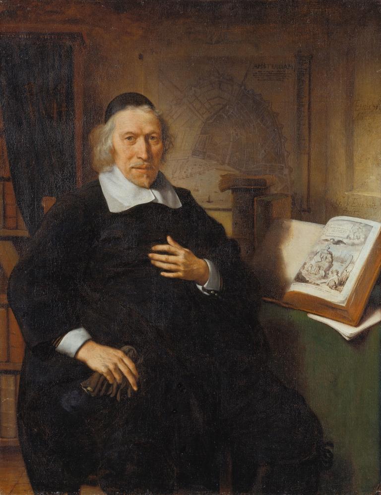 Gerbrand van den Eeckhout (1621-1674), Portrait of Isaac Commelin, 1669, Städel Museum, Frankfurt am Main