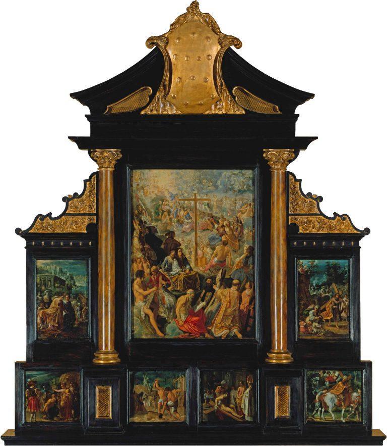 Adam Elsheimer (1578-1610), The Altarpiece of the Exaltation of the True Cross, 1603-05, Frankfurt am Main, Städel Museum