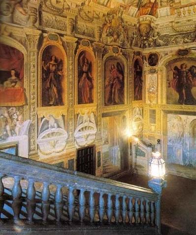 Interior of the Monasterio de las Descalzas Reales