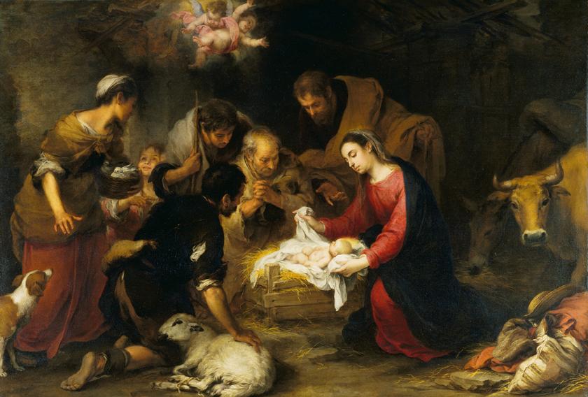 Bartolomé-Esteban Murillo (1617-1682), The Adoration of the Shepherds, ca. 1665-70, The Wallace Collection, London