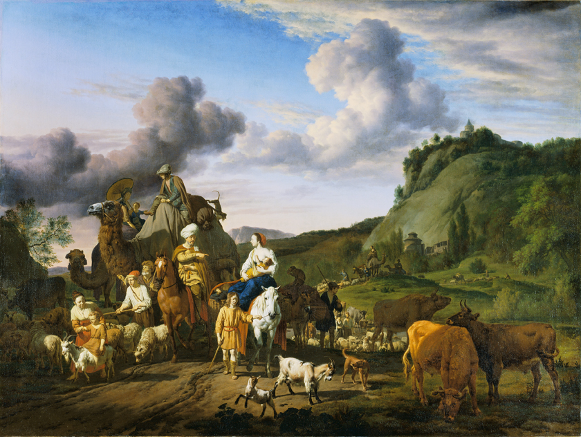 Adriaen van de Velde (1636-1672), The Migration of Jacob, 1663, The Wallace Collection, London