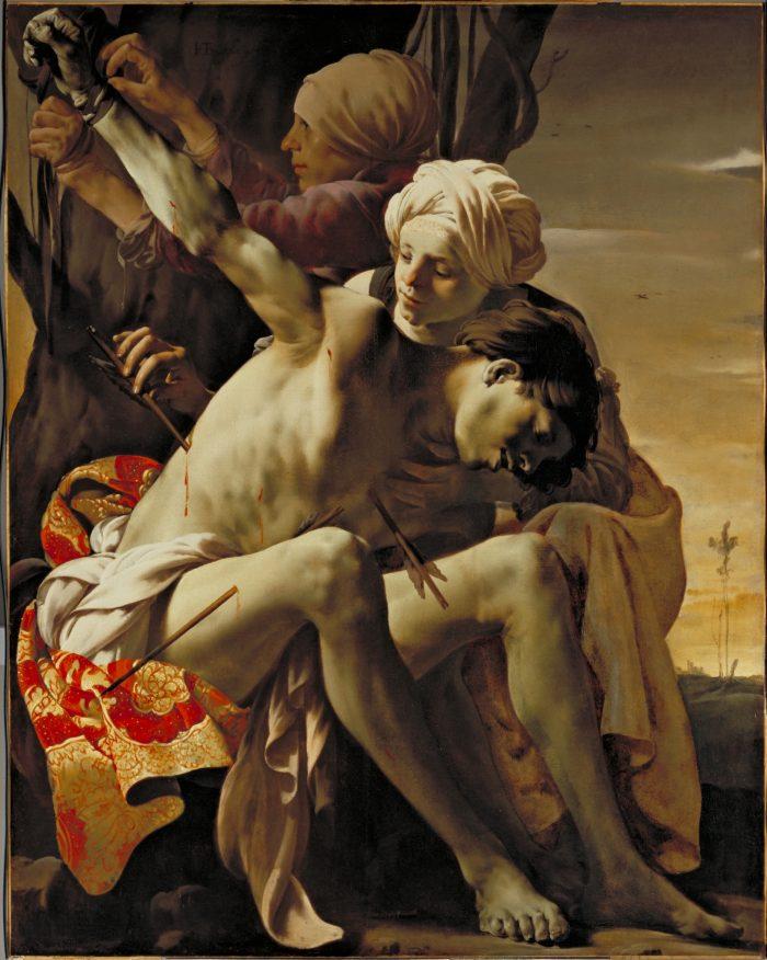 Hendrick ter Brugghen (ca. 1588–1629) Saint Sebastian Tended by Irene 1625 R.T. Miller, Jr., Fund