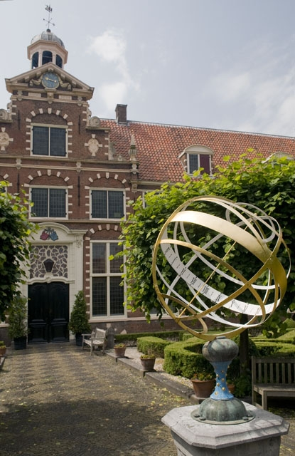 The Frans Hals Museum in Haarlem (inner courtyard)