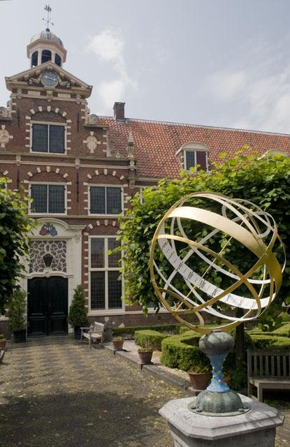 The Frans Hals Museum in Haarlem (inner courtyard)